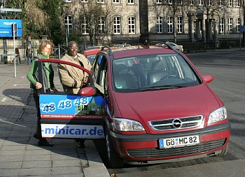 puk minicar: Die Alternative zum Taxi Goettingen